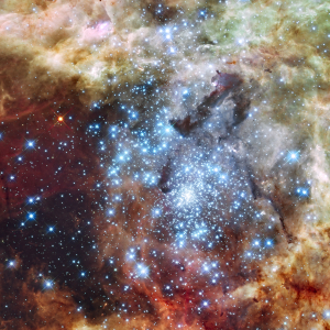 NASA Hubble Image, 'Merging Clusters in 30 Doradus' Image Credit: NASA, ESA, and E. Sabbi (ESA/STScI) Acknowledgment: R. O'Connell (University of Virginia) and the Wide Field Camera 3 Science Oversight Committee